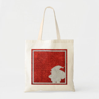 Personalized Merry Christmas Santa Claus Tote Bag