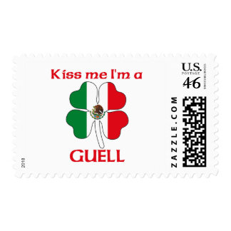 Personalized Mexican Kiss Me I m Guell Postage Stamps
