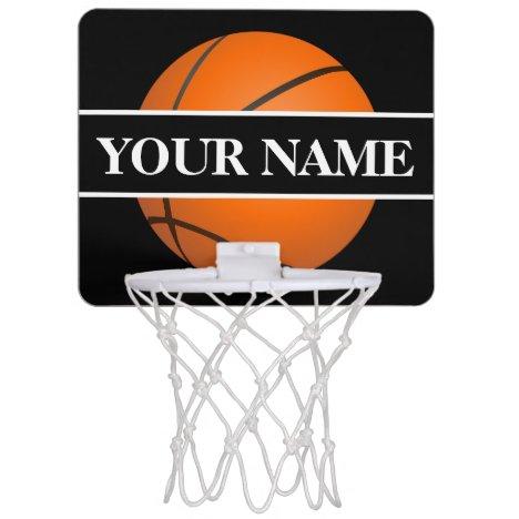 Personalized Mini Basketball Hoop