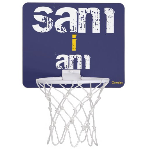 Personalized Mini Basketball Hoop Zazzle