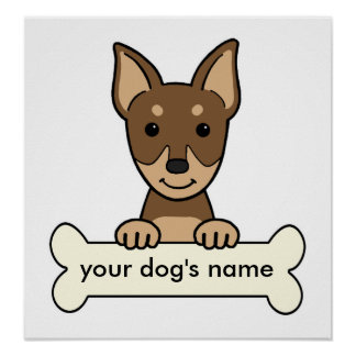 Personalized Miniature Pinscher Posters