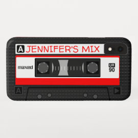 Personalized Mix-Tape iPhone XR Case