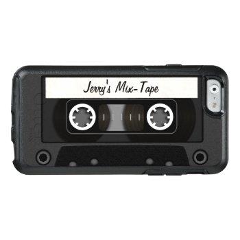 Personalized Mix Tape Otterbox Iphone 6/6s Case by JerryLambert at Zazzle