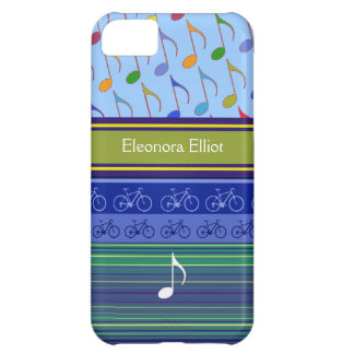 personalized mixed design iPhone 5C case