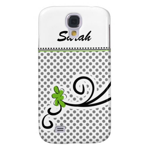 personalized mod floral green 3 casing samsung galaxy s4 covers