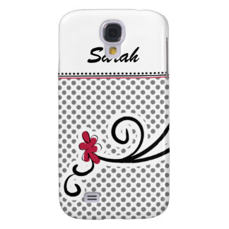personalized mod floral pink 3 casing samsung galaxy s4 cover