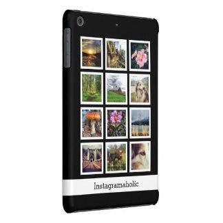 Personalized Mod Instagram Photo Collage 12 Pics iPad Mini Retina Cover