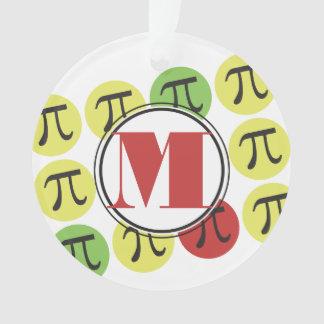 Personalized Mod Pi Math Ornament