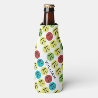 Personalized Mod Pi Symbols - Pi Day Bottle Cooler