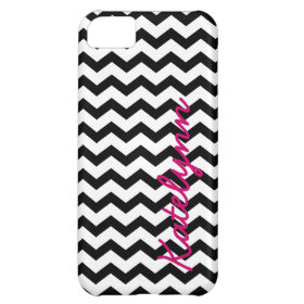 Personalized Modern Chevron Zigzag iPhone 5 Case