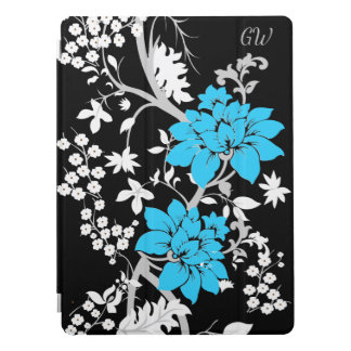 Personalized Modern floral iPad Pro Cover