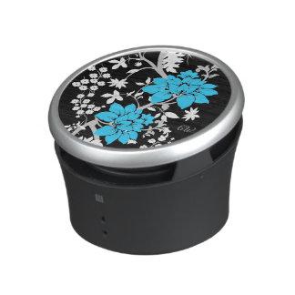 Personalized Modern floral Speaker