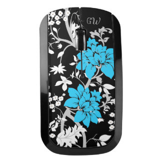 Personalized Modern floral Wireless Mouse