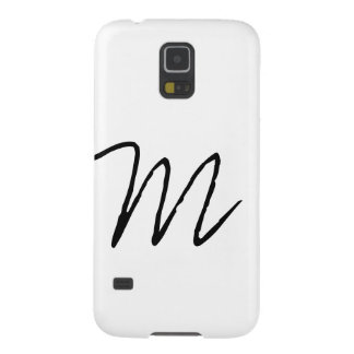 Personalized Modern Monogram Galaxy S5 Case