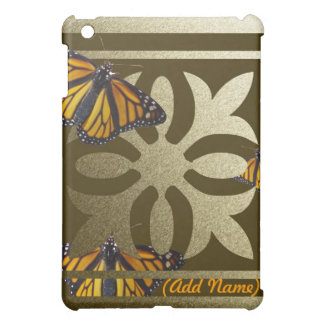 Personalized Monarch iPad Case