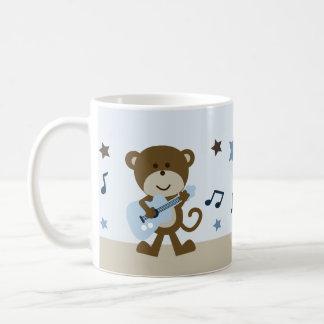 "Personalized ""Monkey Rockstar/Music"" Mug Adorable"