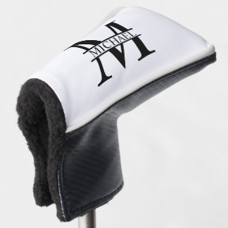Personalized Monogram and Name Golf Head Cover