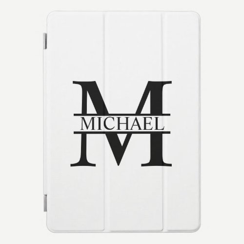 Personalized Monogram and Name iPad Pro Cover