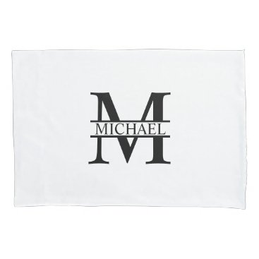 Beach Themed Personalized Monogram and Name Pillow Case