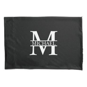 Beach Themed Personalized Monogram and Name Pillowcase