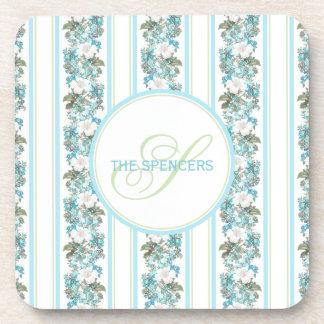 Personalized monogram coasters housewarming gift
