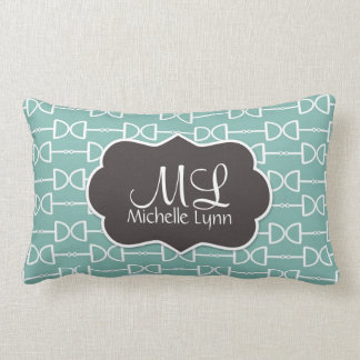 Personalized Monogram D Ring Horse Bit Pillow