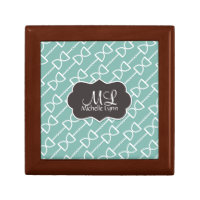 Personalized Monogram D Ring Snaffle Horse Bit Keepsake Box