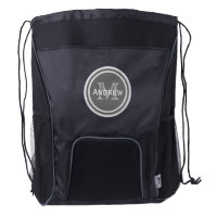 Personalized Monogram Drawstring Backpack 3