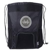 Personalized Monogram Drawstring Backpack 3