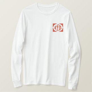 Personalized Monogram Embroidered Name Embroidered Long Sleeve T-Shirt