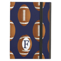 Personalized Monogram Football Balls Sports Case For iPad Air