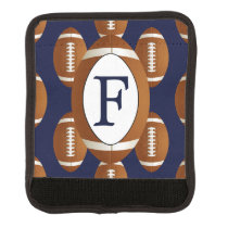 Personalized Monogram Football Balls Sports Handle Wrap