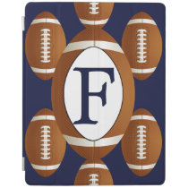 Personalized Monogram Football Balls Sports iPad Smart Cover