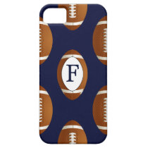 Personalized Monogram Football Balls Sports iPhone SE/5/5s Case