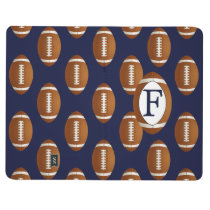 Personalized Monogram Football Balls Sports Journal