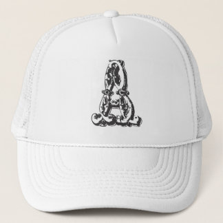 Personalized Monogram Letter A Baseball Hat