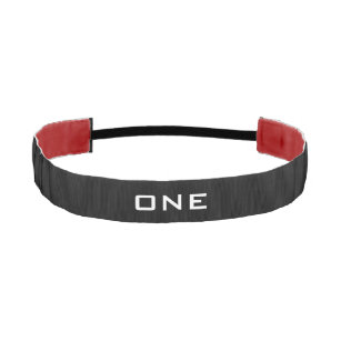 Personalized monogram non slip sports headband
