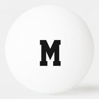 Personalized monogram ping pong balls ping pong ball