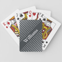 Personalized Monogram Playing Cards