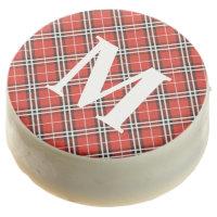 Personalized Monogram Tartan Oreo Holiday Cookies