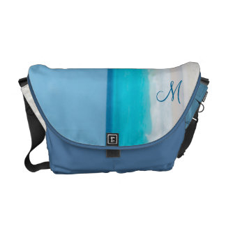 Personalized Monogrammed Beach Bags Messenger Bag