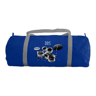 Personalized Monogrammed Duffle Bag Drum Set