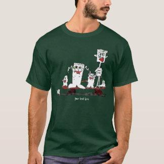 Personalized Monster Cartoons Skateboard T-Shirt