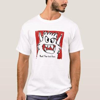 Personalized Monster Mood Cartoon T+Shirt T-Shirt