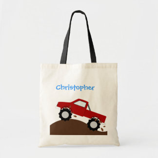 Personalized Monster Truck Bag