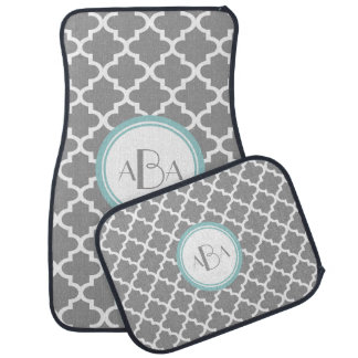 Personalized Moroccan Pattern Floor Mats
