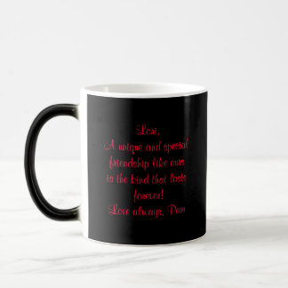 Personalized Morphing Mug-Rose Design Magic Mug