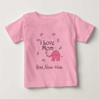 Personalized Mothers Day Baby Gift For Mom Baby T-Shirt