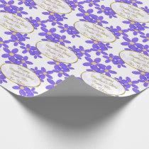 Personalized Mother's Day Gift Wrap