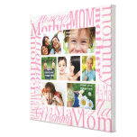 Personalized Mother's Day Photo Collage Gallery Wrap Canvas